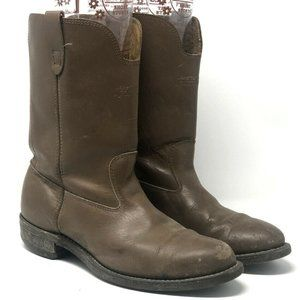 American Style Men's Western Leather Boots Size 9